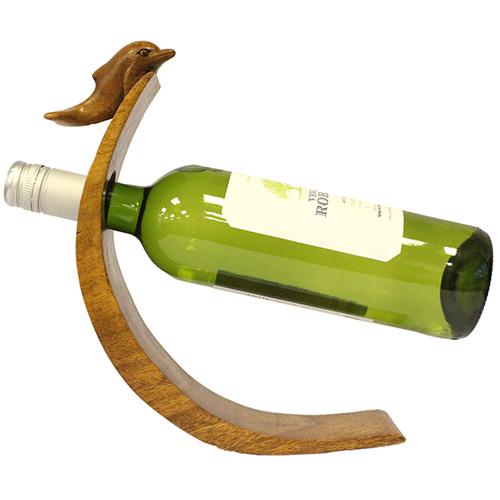 Suar Wood Balance Wine Holders