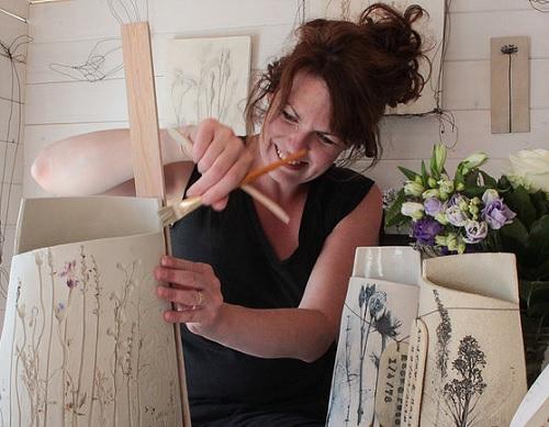 Louise Condon Designs-Ceramic Botanist