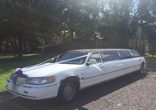 Diamond Limo / Mr & Mrs Wedding Cars