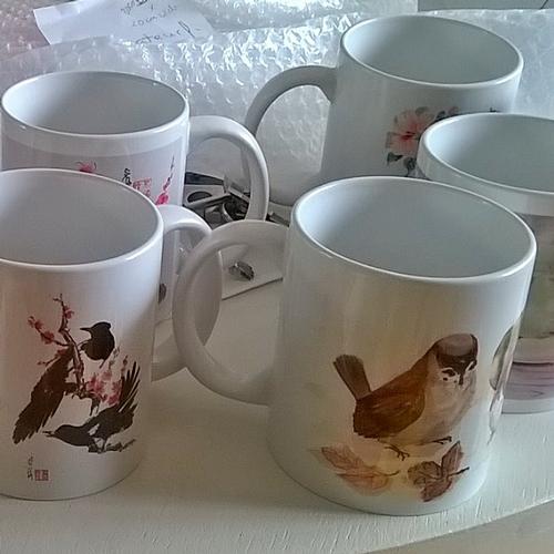 Mugs with Art prints