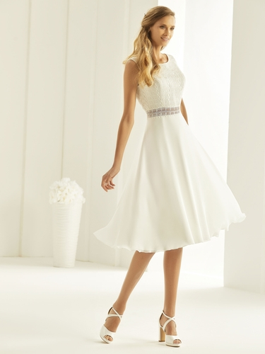 Short Bridal Gowns - Bianco Evento