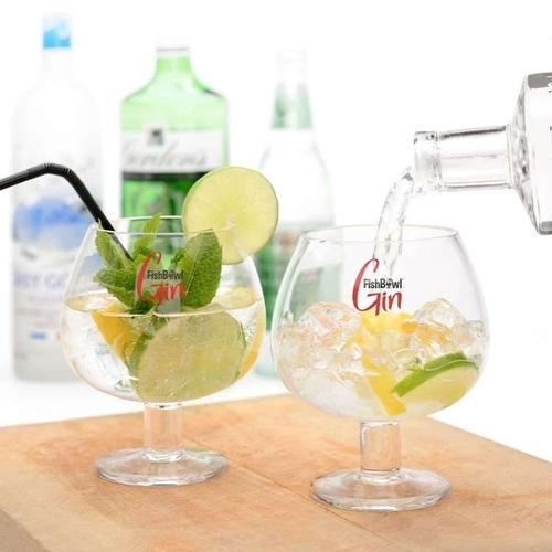 FishBowl Gin Glasses (Set of 2) (600ml)