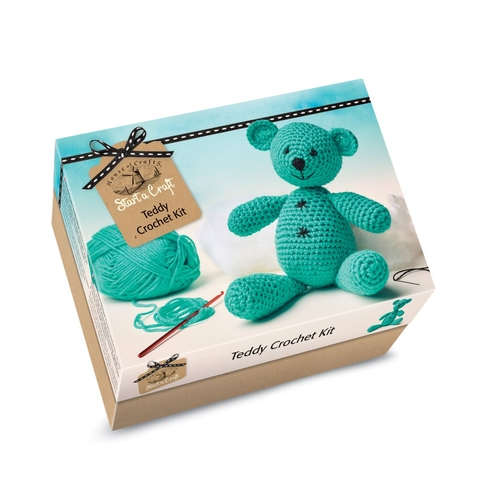 Start a Craft Teddy Crochet Kit