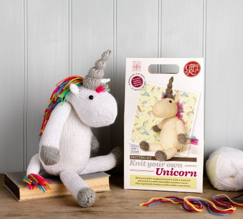 A Fun range of Knitting Kits from super easy to intermediate