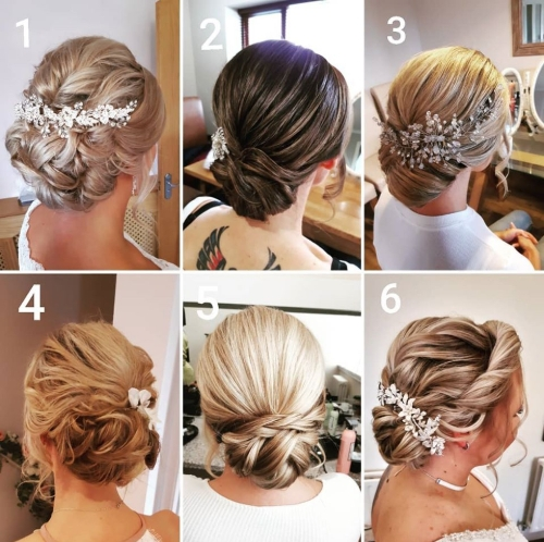 Gower Bridal Hair