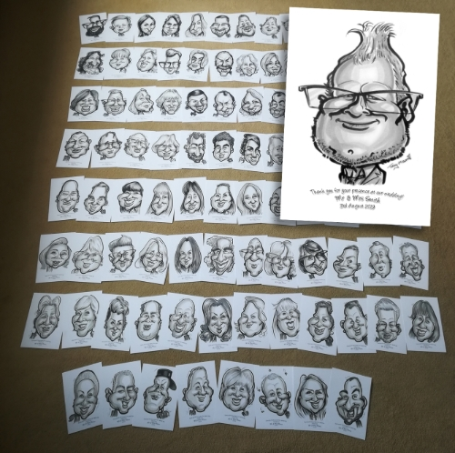 Caricatures by Tony Marriott (Tonys Toons)