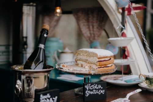 Queenie's Travelling Teapot & Tipple Spot