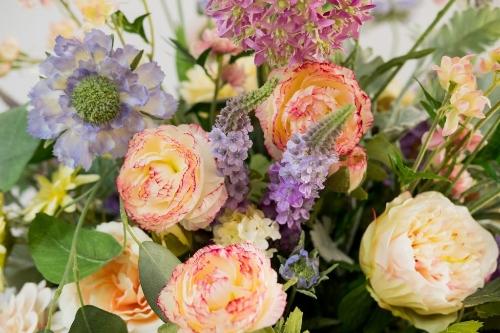 Fancy Faux Silk Flowers