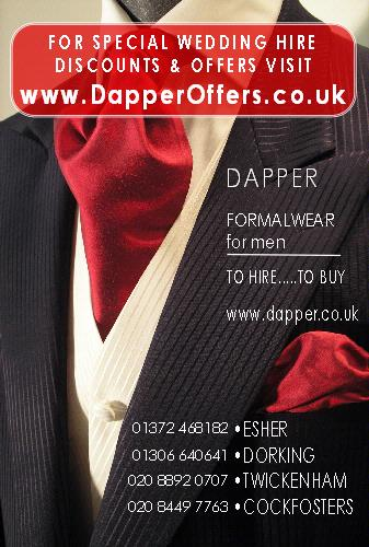 Men's Formal Wear - DAPPER Formalwear for Men