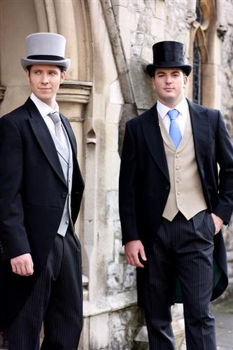 Men's Formal Wear - Buckleigh of London