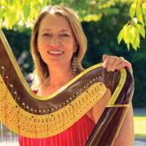 Glenda Clwyd Professional Welsh Harpist