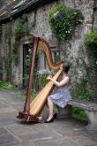 Harpist Elin Lloyd