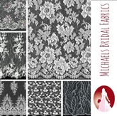 Michaels Bridal Fabrics