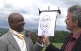 Entertainer Picasso Griffiths Lightning Caricaturist