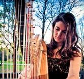 Harpist Megan Morris