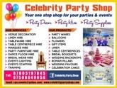 Celebrity Party Shop