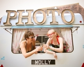 Molly the Vintage Caravan Photo Booth