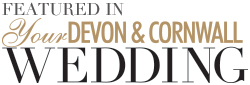 Featured in Your Devon and Cornwall Wedding magazine